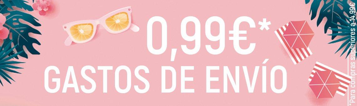 GAstos de envio a 0,99€*