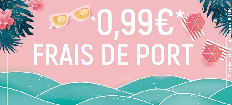 Frais de port 0,99€*