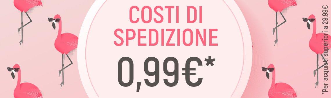 Costi di Spedizione 0,99€