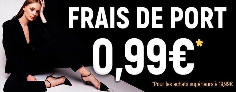Frais de port 0.99€