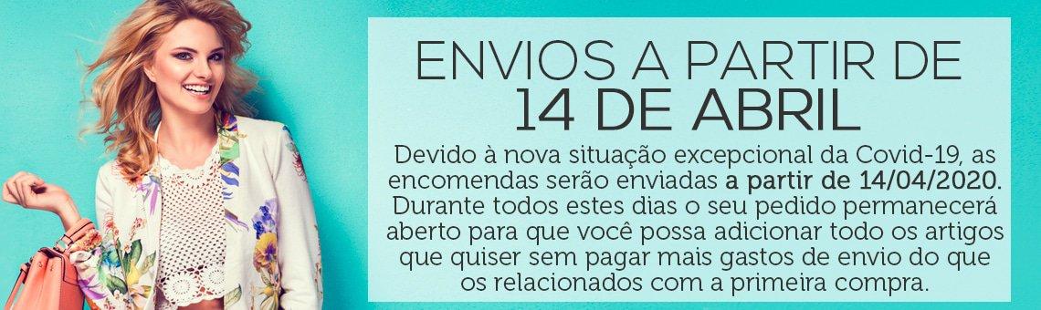ENVIOS A PARTIR DE 14 DE ABRIL