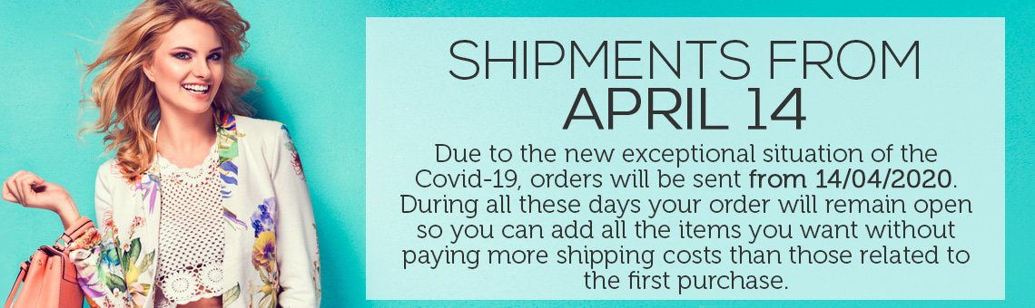 SHIPMENTS FROM APRIL 14
