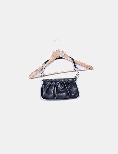 Bolso pochette negro