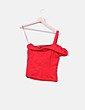 Blusa roja texturizada Suiteblanco
