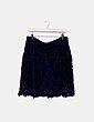 Minifalda azul crochet Easy Wear