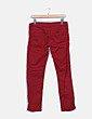 Pantalón denim rojo Green Coast