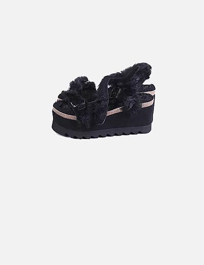 Sapatos com plataforma Genuins