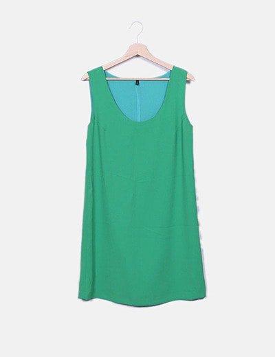Vestido de alças Benetton