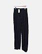 Pantalón negro corte recto Suiteblanco