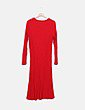 Vestido largo rojo Asos