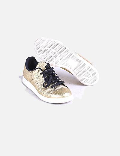 adidas zapatillas doradas