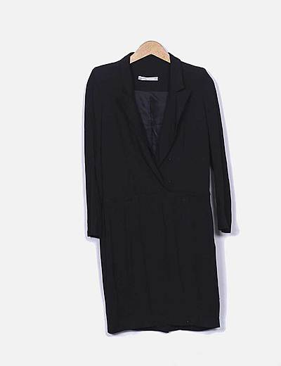 Vestido blazer negro