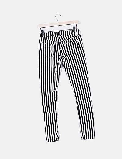 Bershka Jeans Denim Con Rayas Descuento 70 Micolet