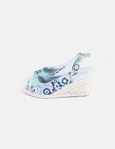 Sapatos de cunha Desigual