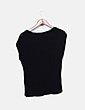 Camiseta negra print Blogger VILA