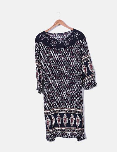 Vestido mini Cachemir básico