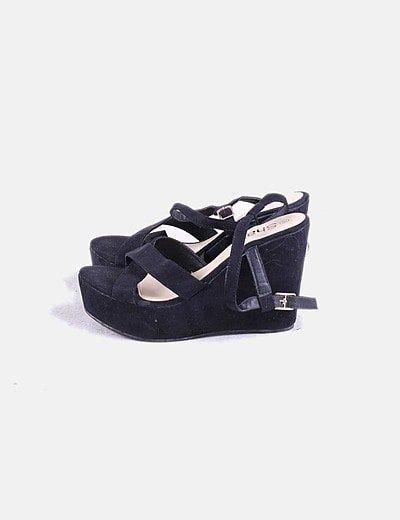 Sapatos de cunha Shana