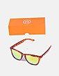Gafas de sol naranjas animal print Hawkers