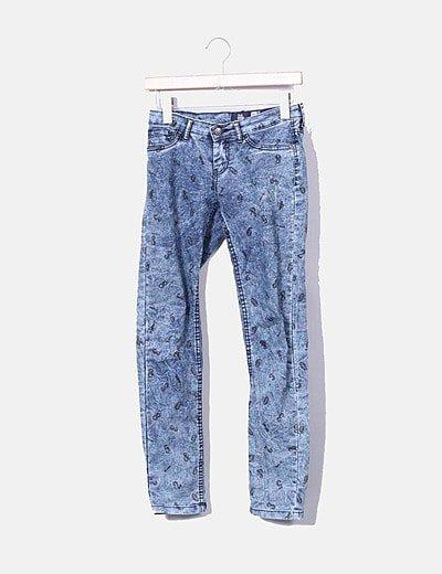 Jeans denim super skinny