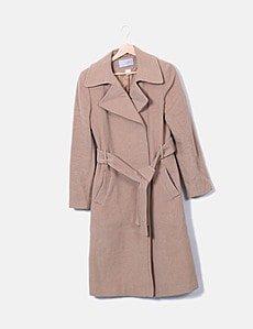 manteau long cintré laura clement