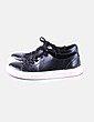 Zapatillas negras acharoladas H&M