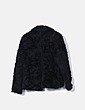 Chaquetón pelo negro H&M