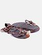 Sandales plates Suiteblanco