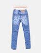 Jeans denim efecto desgastado Inside