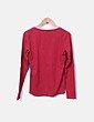 Camiseta granate de manga larga Anne Lagrance