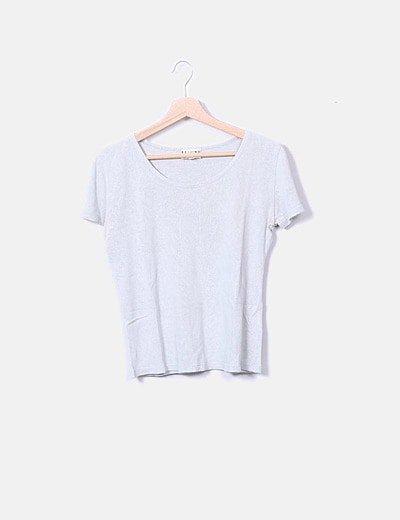 Camiseta de punto manga corta