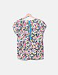 Conjunto blusa y pantalón estampado floral Bimba&Lola