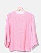 Jersey de punto rosa Zara