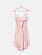 Vestido rosa crochet NoName