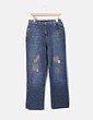 Jeans denim con strass Elena Miró