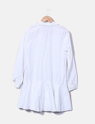 Camisero Blanco Camisero Vestido Blanco Vestido Vestido Blanco Camisero Yf76vgby