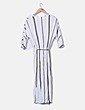 Vestido maxi Massimo Dutti