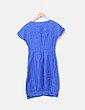 Vestido abullonado azul Zen Spirit