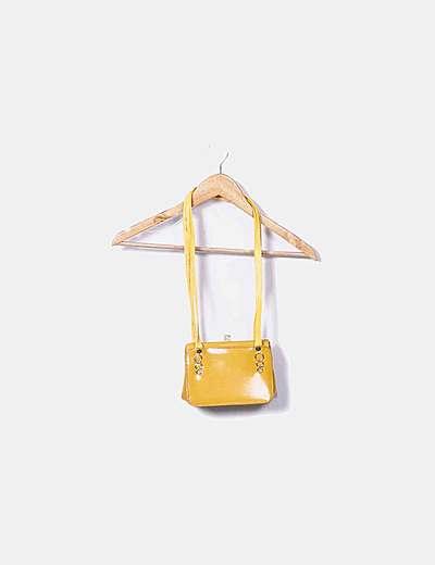 Bolso polipiel amarillo