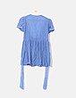 Blusón azul crochet Jolie Moi