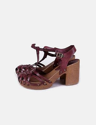 Sandali con tacco Porronet