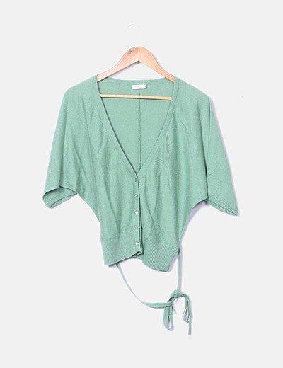 Suéter tricot  verde