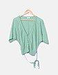 Suéter tricot  verde Trucco