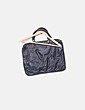 Bolso polipiel negro con tachas Suiteblanco
