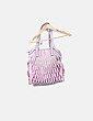 Bolso rosa texturizado Parfois