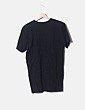 Camiseta larga negra print regrests Pretty little thing