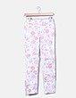 Legging denim blanco con estampado floral C&A