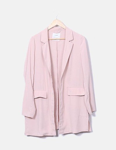 Trench rosa palo