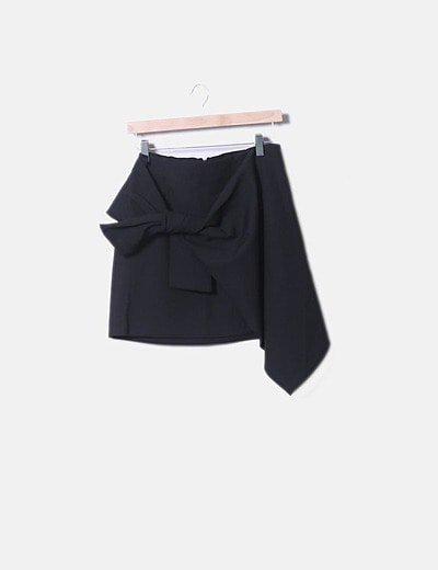 Mini falda lazo