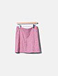 Mini falda antelina rosa Esprit