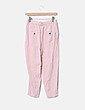 Pantalón fluido rosa Zara